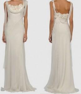 Wunderschönes Brautkleid von Alberta Ferretti bei Yoox