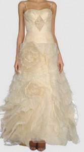 Brautkleid von Giovanna Sbiroli bei Yoox