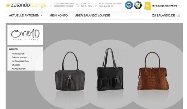 Designertaschen Ore10 in der Zalando Lounge