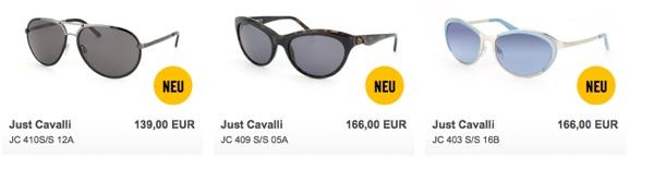 Cavalli-Fan: Hier neue Brillen bei Mister Spex