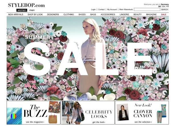 Sale bei Stylebop