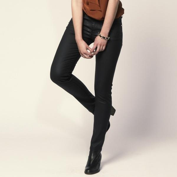 Coating skinny Jeans Hallhuber