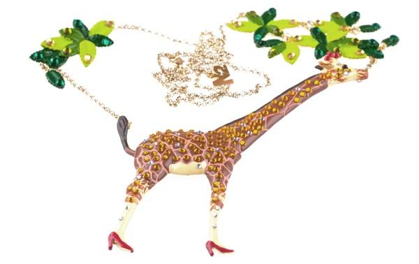 N2 Kette Giraffe gesehen bei Styleteil