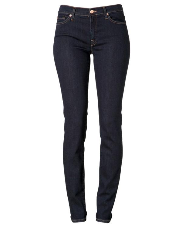 Jeans in dunkler Waschnung gesehen bei Zalando