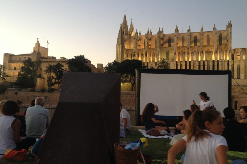 Cinema a la fresca Palma de Mallorca
