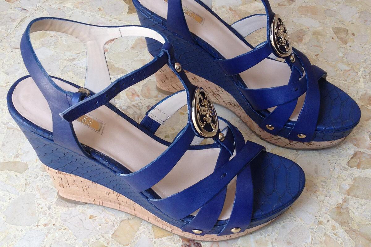 Guess Schuhe Keilabsatz