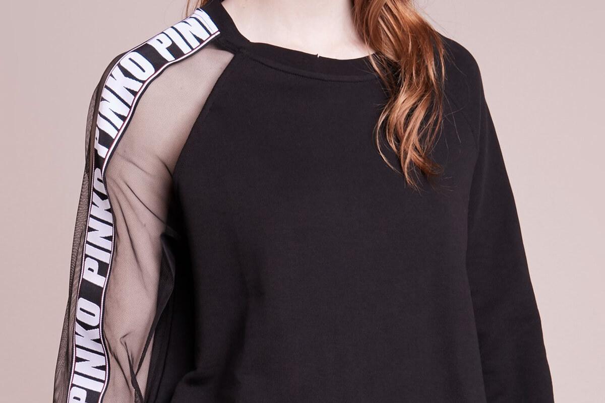 Pinko Logosweatshirt Markenlogos über zalando