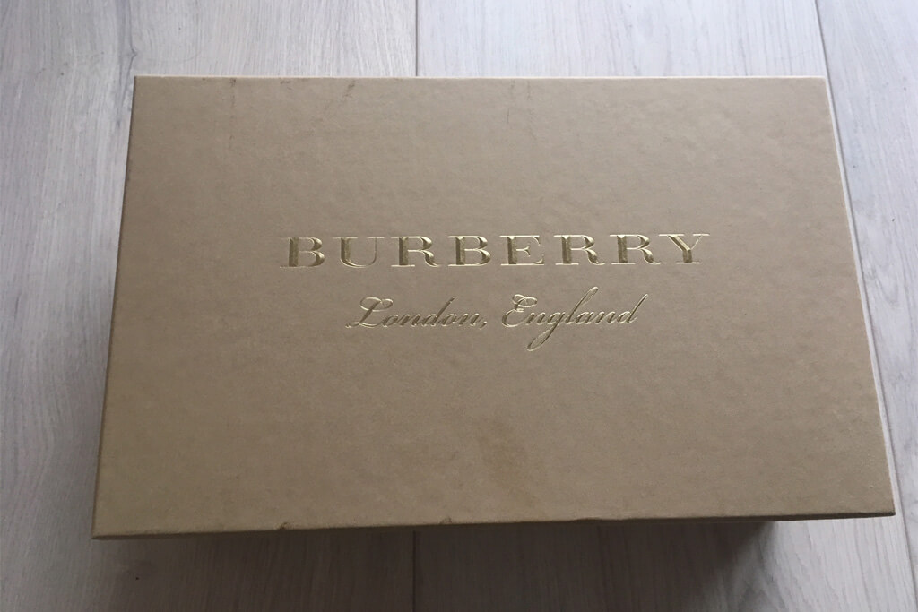 burberry sneaker fashionette original