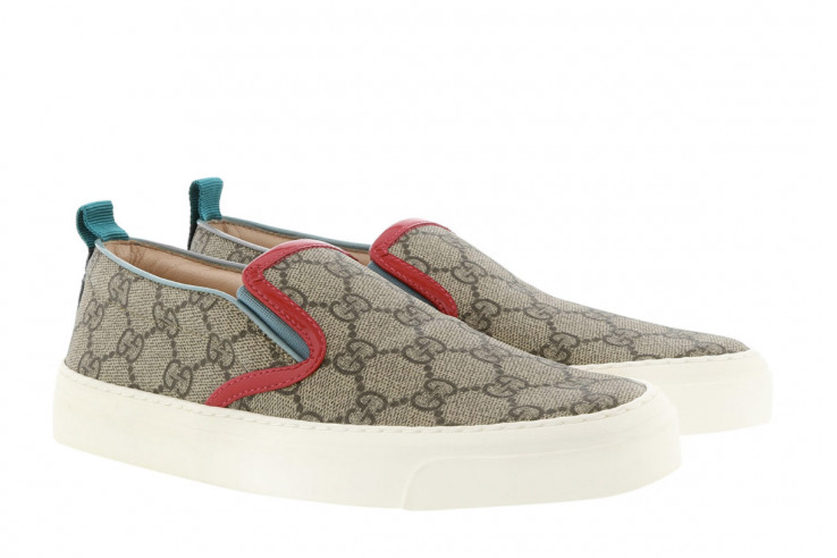 Gucci GG Slip On Sneaker Ebony